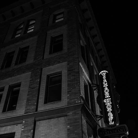 haunted Victor Hotel in Victor, CO